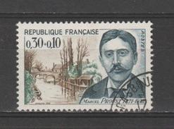 """FRANCE / 1966 / Y&T N° 1472 : """"Célébrités"""" (Marcel Proust) - Choisi - Cachet Rond - France"""
