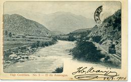 CHILI - Viaje Cordillera - El Rio Aconcagua - N° 3 - Chili