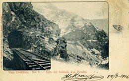 CHILI - Viaje Cordillera - Salto Del Soldado, Los Tuneles - N° 6 - Chili