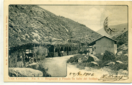 CHILI - Viaje Cordillera - Resguardo Y Posada En Salto Del Soldado,  - N° 8 - Chili