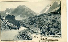 CHILI - Viaje Cordillera - Paso Del Tolorsa - N° 11 - Chile