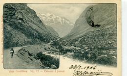 CHILI - Viaje Cordillera - Camino à Juncal - N° 12 - Chile