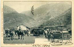CHILI - Viaje Cordillera - Salida De Pasajeros De Juncal - N° 14 - Chili