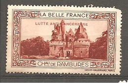 VIGNETTE LA BELLE FRANCE CHATEAU DE  RAMBURES - Cinderellas