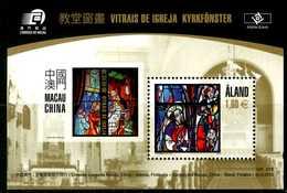 ALAND 2010** - Vetri Di Una Chiesa - Block MNH Come Da Scansione - Vetri & Vetrate