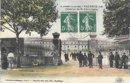Valence - Caserne Du 6e Régiment D'Artillerie - Collection Artistique Lux - Carte Colorisée - Valence