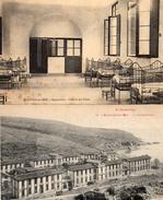 612Go  66 Banyuls Sur Mer Lot De 2 Cpa Sanatorium - Banyuls Sur Mer