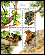 BAHAMAS 1996** - Reptiles Of The Bahamas - Block Di 4 Val. MNH Come Da Scansione - Rettili & Anfibi