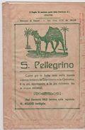 TOURING CLUB 1939 CARTA DITALIA SASSARI FOGLIO 32 CON BUSTA S. PELLEGRINO , BERTARELLI - Mapas Geográficas