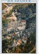 Rocamadour.. Belle Vue De La Ville étape Sur Le Chemin De Compostelle - Rocamadour