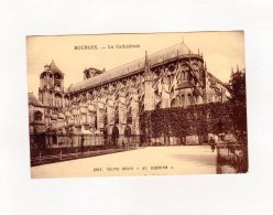 66821    Francia,   Bourges,  La  Cathedrale,  NV(scritta) - Bourges