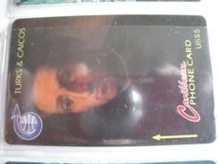 GPT Phonecard From Turks & Caicos - Young Columbus - 3CJGC