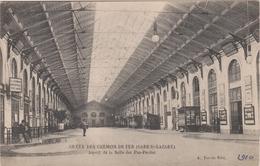 D 75 - Grève Des Chemins De Fer 1910 - Gare Saint-Lazare - Salle Des Pas-Perdus - Editeur A. Taride - Strikes