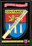 50- COUTANCES - BLASON -ECUSSON HERALDIQUE - Coutances