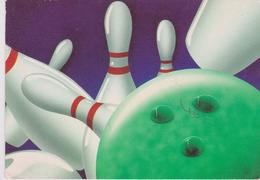 CPM 10X15 LE BOWLING (Quilles) Illust.J.Ph. DUPONQ - Cartes Postales