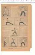 2 Scans Document 1901 / Escrime Sport Fleuret Epée Nombreux Escrimeurs Résultat Tournois / VP 204/2 - Publicités