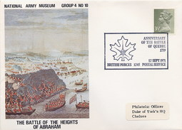 GREAT BRITAIN -  National Army Museum -  BATTLE Of HEIGHTS Of ABRAHAM - CAPTURE Of QUEBEC - Militaria