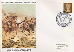 GREAT BRITAIN -  National Army Museum -  BATTLE Of ELANDSLAAGTER - BOER WAR - Storia Postale