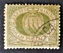 EMISSION 1892/94- OBLITERE - YT 13 - MI 13 - Saint-Marin