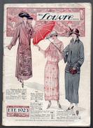 (Paris) Catalogue AU LOUVRE  été 1923 (CAT 552) - Textile & Vestimentaire