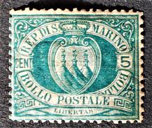 EMISSION 1895/99 - NEUF * - YT 27 - MI 27 - Saint-Marin