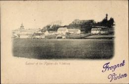 Cp Virton Wallonien Luxemburg, Latour Et Les Ruines Du Chateau - Belgio