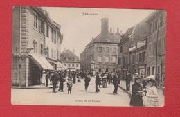 Héricourt --  Place De La Mairie - Andere Gemeenten