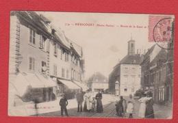 Héricourt --  Route De La Gare  --réparée - Andere Gemeenten