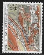 TIMBRE N° 334    ANDORRE FRANCAIS  -  NEUF   - 1984  TABLEAU PEINTURE PRE ROMANE DE SANT CERNI DE NAGOL - French Andorra