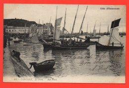 CANCALE - Le Port. (animation) - Cancale