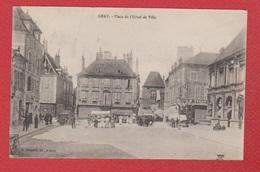 Gray--  Place De L Hôtel De Ville - Gray