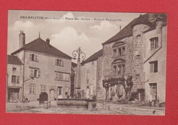 Champlitte  -   Place Des Halles - Autres Communes