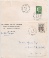 2 CACHETS (59) AULNOYE AYMERIES ENTREPOT Nord. 1967 Et 1972. - Postmark Collection (Covers)