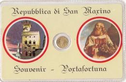 Saint-Marin - San Marino - Souvenir Portafortuna Di San Marino - Monnaie Pièce - Saint-Marin