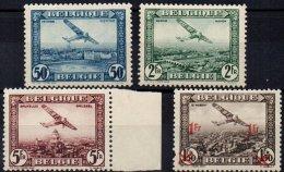BELGIQUE - 4 Valeurs De 1930/5 Neuves LUXE - Airmail