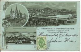RUSSIE....carte écrite Depuis Wladivostok En 1902 - Russie