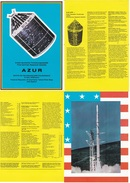 Space History 1969 AZUR First German Satellite Photos And Docs - Stamps