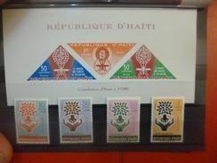 HAITI. JOLIE SELECTION NEUVE XX DONT BLOC NON-DENTELE. (9) - Haiti