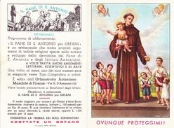 CALENDARIETTO 1958 ORFANOTROFIO ANTONIANO MASCHILE FI - Calendriers