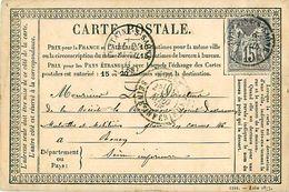 Cpa Précurseur 1878 De FONTAINE SUR SAONE 69 à Rouen - Autres Communes