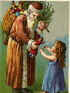 """FANTAISIE  L 4    """"  JOYEUX NOEL    """"     CPM / CPSM  10 X 15 - Santa Claus"""