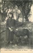 TYPES CORSES   Jolie Gardeuse De Chèvres - France