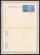C-L N° 25 - Timbre Type Du COB N° 169 - Non Circulé - Not Circulated - Nicht Gelaufen. - Entiers Postaux