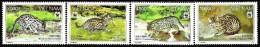 Vietnam - 2010 - Fishing Cat - Mint Stamp Set - Vietnam