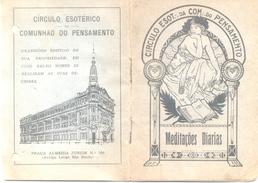 """PORTUGUES """"MEDITACOES DIARIAS"""" CIRCULO ESOTERICO DA COMUNHAO DO PENSAMENTO SAN PAULO BRASIL 34 PAGINAS RARISIME - Libri, Riviste, Fumetti"""