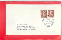 GREAT BRITAIN - 160th  BIRTHDAY  ABRAHAM  LINCOLN  '69 - Celebrità