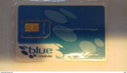 HUNGARY - GSM SIM - BLUE - Ungheria