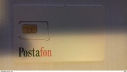 HUNGARY - GSM SIM - POSTAFON - Ungheria