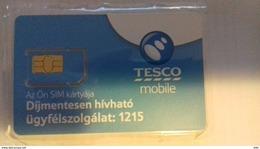 HUNGARY - GSM SIM - TESCO - Ungheria