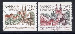 SWEDEN 1986 Scandinavian Town Partnerships Used.  Michel 1395-96 - Sweden
